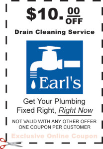 Plumbing Coupons Save On Your Next Plumbing Repairearl S
